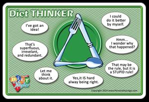 Personality Diet Thinker - Mary Miscisin